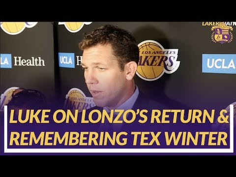 Lakers Nation Post Game: Luke Walton on Tonights Win & the Passing of Tex Winter