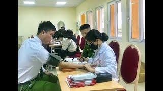 Chương trình hiến máu tình nguyện: Hiến máu đầu xuân - Nhân lên hạnh phúc
