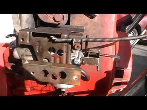 how to adjust a small engine carburetor