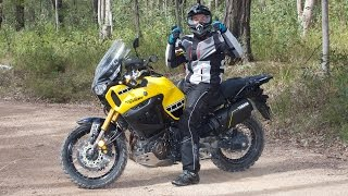 9. A Man and His 2016 Yamaha Super Tenere