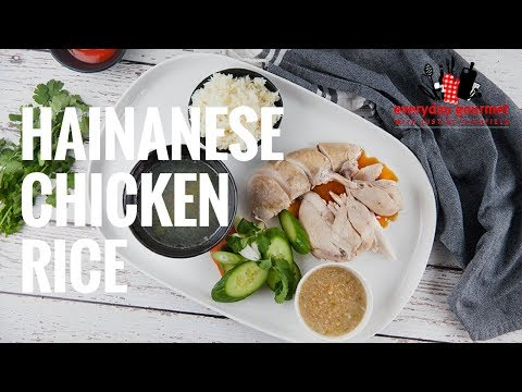Pressure Cooker Hainanese Chicken Rice | Everyday Gourmet S7 E63