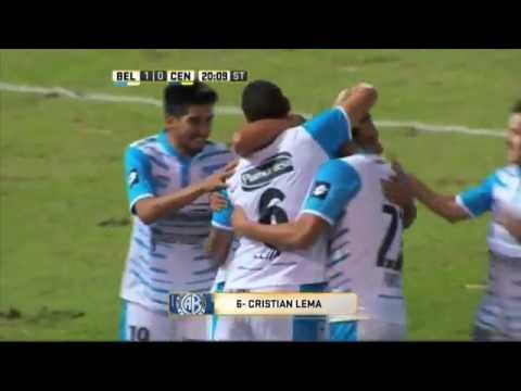 Gol de Lema. Belgrano 1 – Rosario Central 0. Fecha 16. Primera División 2016