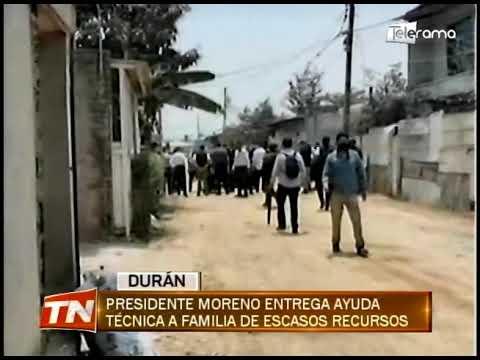 Presidente Moreno entrega ayuda técnica a familia de escasos recursos