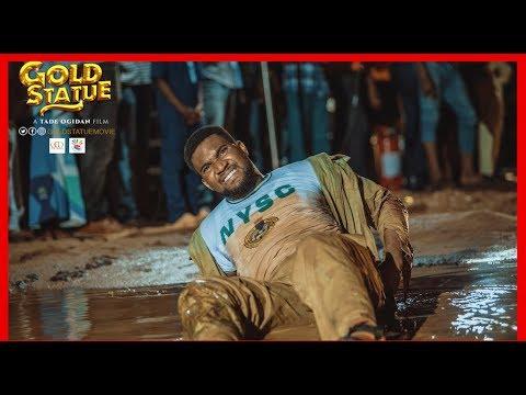 GOLD STATUE | TADE OGIDAN | NIGERIAN MOVIE TRAILER REACTION