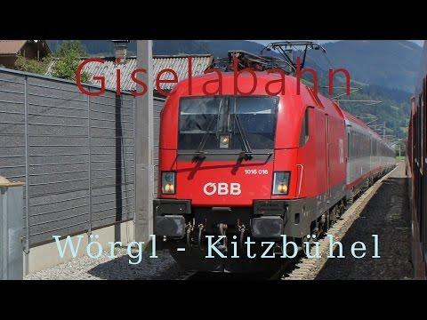 Führerstandsmitfahrt Giselabahn Wörgl - Kitzbühel [HD] - Cab Ride - ÖBB 1116