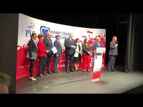 Wideo1: Przywitanie premiera RP Mateusza Morawieckiego