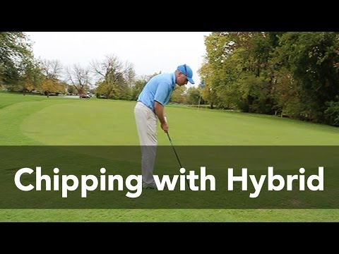 How Chipping with a Hybrid Saves You Strokes | Golf Instruction | My Golf Tutor