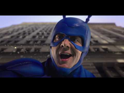 The Tick 'Falling' - Exclusive to Amazon Prime from 25 August
