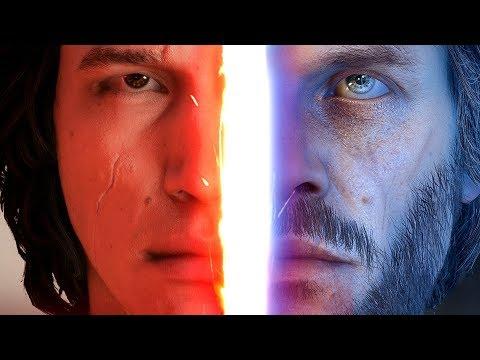 ◀THE LAST JEDI: KYLO VS LUKE SCENE Recreated in Battlefront 2 (видео)