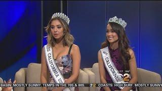 Miss California USA, Nadia Mejia, and Miss California Teen USA, Athena Crosby, joined us live on CBS2 Monday morning.