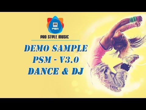 Demo Sample PSM - V3.0 - Yamaha Genos | Phần 2: DANCE - DJ