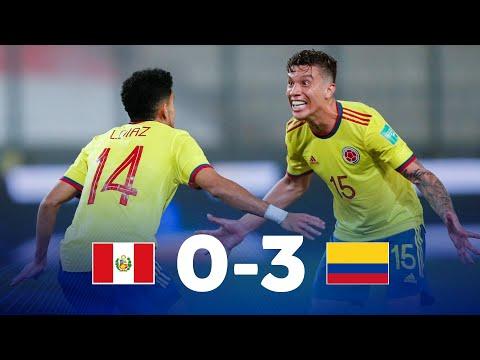 Eliminatorias Sudamericanas   Perú vs Colombia   Fecha 7