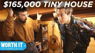 Video $50,000 Tiny House Vs. $165,000 Tiny House MP3, 3GP, MP4, WEBM, AVI, FLV September 2019