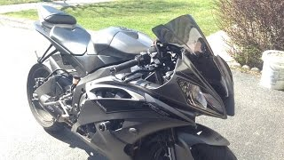 10. 2016 Yamaha R6 M4 Street Slayer Full System Exhaust Sound Test