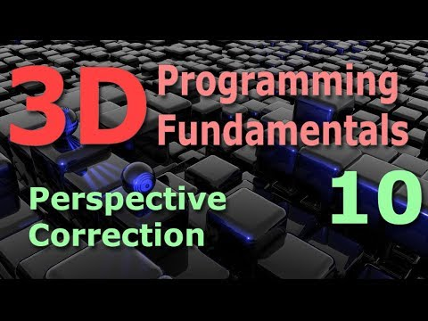 3D Programming Fundamentals [Perspective Correction] Tutorial 10