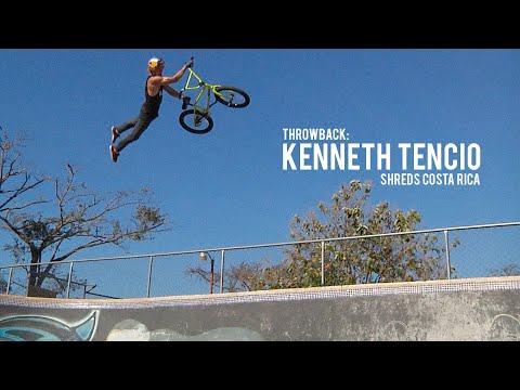 Kenneth Tencio = Insane! Costa Rica's Best BMX Rider (видео)