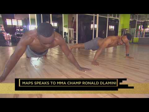 Top Billing features MMA Champion Ronald 'The Black Mamba' Dlamini