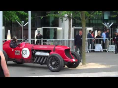 Napier Bentley Shoots Flames At The Liverpool Pageant Of Power