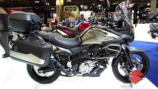 7. 2014 Suzuki V-Strom 650 ABS Walkaround - 2013 EICMA Milan Motorcycle Exibition