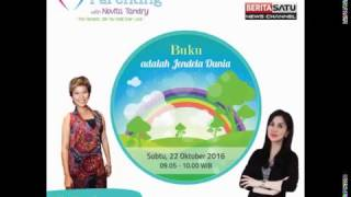 Tips Parenting Happy Parenting with Novita Tandry Episode 20 : Buku Adalah Jendela Dunia