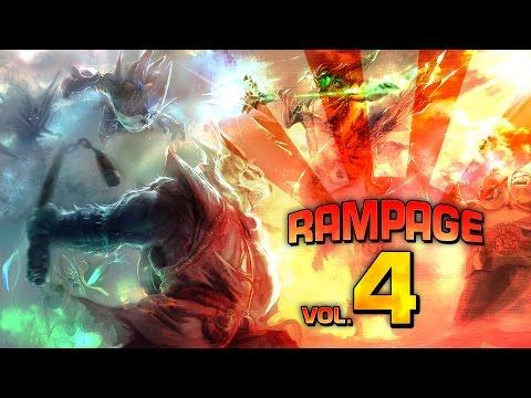 Dota 2 Rampage Vol. 4 (видео)