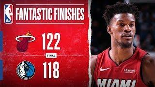 DRAMATIC OT THRILLER In Dallas between the Heat & Mavericks   Dec. 14, 2019 by NBA