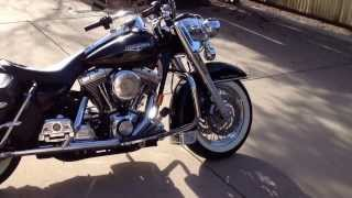 9. 2002 Harley Davidson Road King Classic - Stage 1 - Power Commander - Arlen Ness Air Filter