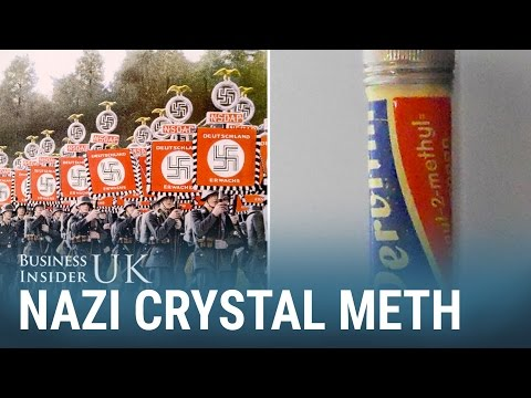 How crystal meth helped the Nazis conquer large parts of Europe