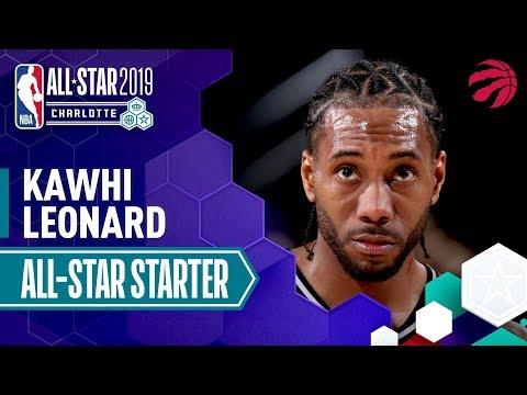 Video: Kawhi Leonard 2019 All-Star Starter   2018-19 NBA Season