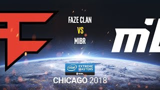 FaZe Clan vs MIBR - IEM Chicago 2018 - map3 - de_train [SleepSomeWhile & Anishared]