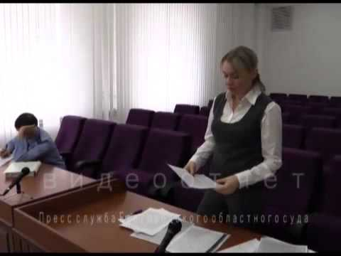 Видеоотчет по делу А. Колосова, ст.111 ч.4, 158 ч.3  УК РФ (видео)