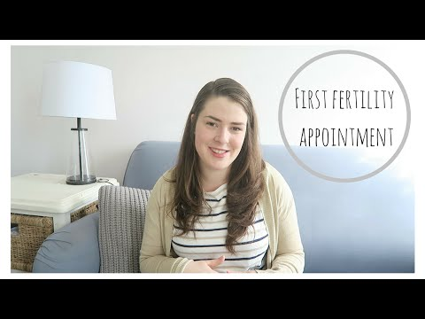 OUR FIRST FERTILITY APPOINTMENT!