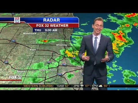 Loki Tom Hiddleston Does the Weather
