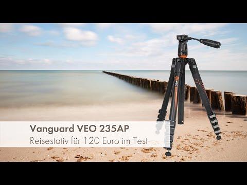 Vanguard VEO 235AP - Kompaktes und stabiles Reisestativ im Test [Deutsch]