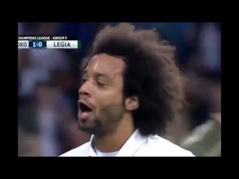 Real Madrid vs Legia Warsaw 5 1 All Goals Highlights. 18102016 UCL