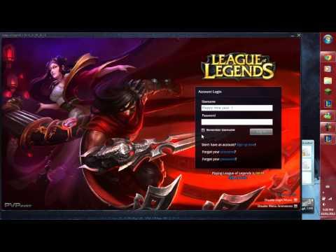 League of Legends - Lunar Revel Login Screen Music Excellent Quality