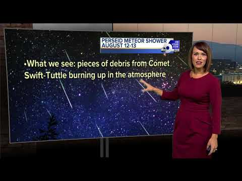 How and when to catch the Perseid meteor shower this weekend