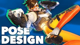 Tracer & Pose Design 101 - The Animation of Overwatch - New Frame Plus