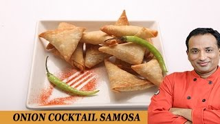 Cocktail Onion Samosa Recipe with Philips Airfryer by VahChef