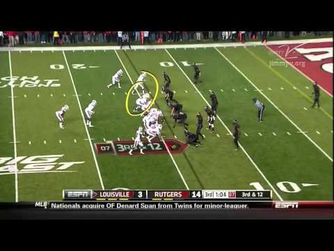 Teddy Bridgewater vs Rutgers 2012