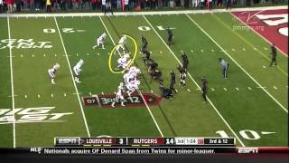 Teddy Bridgewater vs Rutgers (2012)