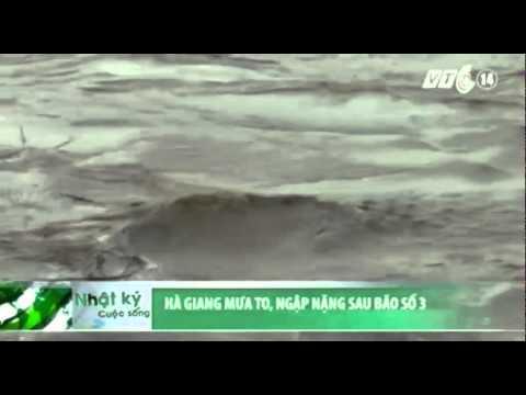 Hà Giang: Mưa to, ngập nặng sau bão số 3