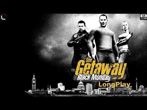 The Getaway: Black Monday - LongPlay [4K:60fps] 🔴