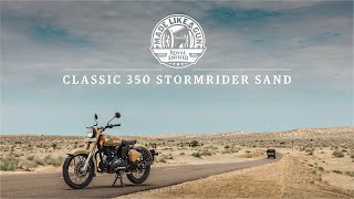Royal Enfield Classic 350 Signals Edition - Stormrider Sand - Video Novità