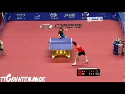 China Open Xu Xin Ma Long Tischtennis in Perfektion!
