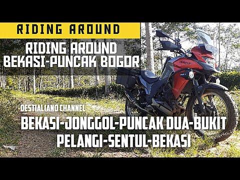 RIDING AROUND BEKASI PUNCAK BOGOR | JALUR ALTERNATIF KE PUNCAK | MOTOVLOG VERSYS