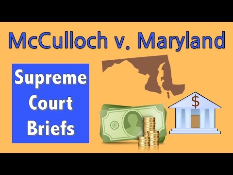 Does Congress Have Implied Powers? | McCulloch V. Maryland