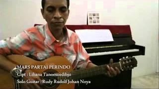 Video MARS PARTAI PERINDO - Guitar Solo/Rudy Rudolf Johan MP3, 3GP, MP4, WEBM, AVI, FLV Maret 2018