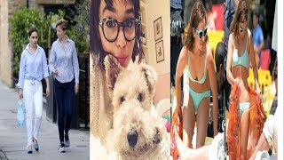 Enjoy some of the rare and Unseen real life photos of Emilia Clarke , Danerys Targaryen of Game of Thrones.