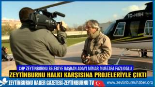 CHP MUSTAFA FAZLIOĞLU LANSMAN 3 PROJELER